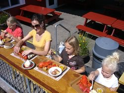 Photos of Harraseeket Lunch and Lobster Company | Lunch counter and lobster pound | South Freeport Maine Harbor